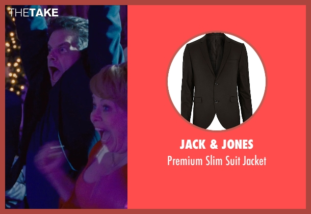 Jack & Jones black jacket from Silver Linings Playbook seen with Shea Whigham (Jake)