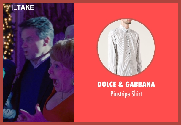 Dolce & Gabbana white shirt from Silver Linings Playbook seen with Shea Whigham (Jake)