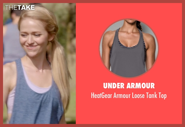 Under Armour gray top from Quantico seen with Shelby Wyatt (Johanna Braddy)