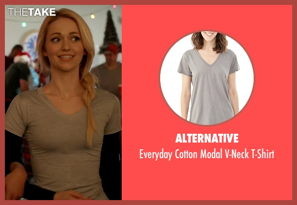 Alternative gray t-shirt from Quantico seen with Shelby Wyatt (Johanna Braddy)
