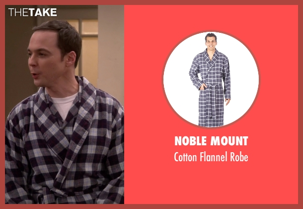 Noble Mount black robe from The Big Bang Theory seen with Sheldon Cooper (Jim Parsons)