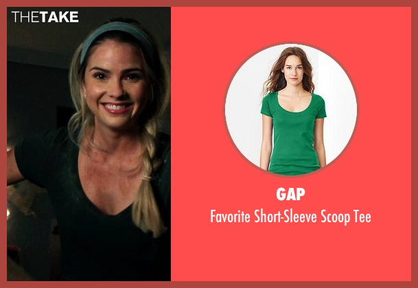 GAP green tee from Ouija seen with Shelley Hennig (Debbie)