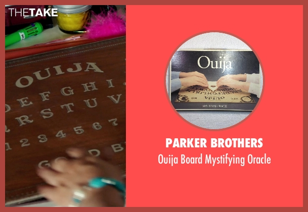 Parker Brothers oracle from Ouija seen with Shelley Hennig (Debbie)
