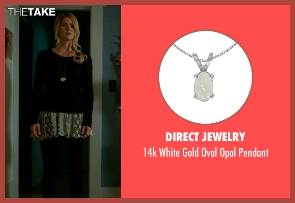 Direct Jewelry pendant from Ouija seen with Shelley Hennig (Debbie)