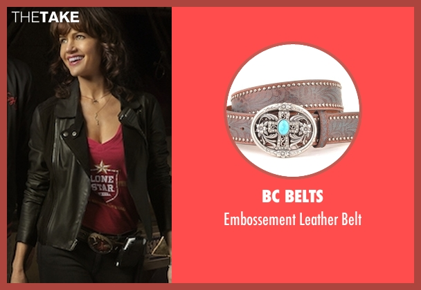 BC Belts brown belt from Roadies seen with Shelli (Carla Gugino)