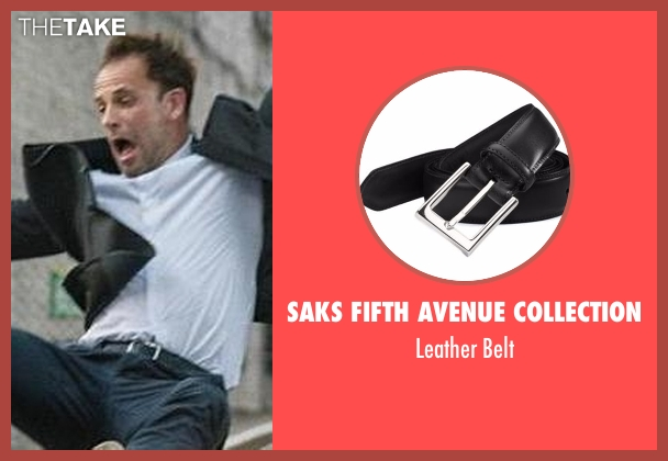 Saks Fifth Avenue Collection black belt from Elementary seen with Sherlock Holmes (Jonny Lee Miller)