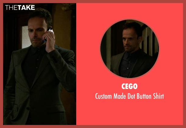 Cego black shirt from Elementary seen with Sherlock Holmes (Jonny Lee Miller)