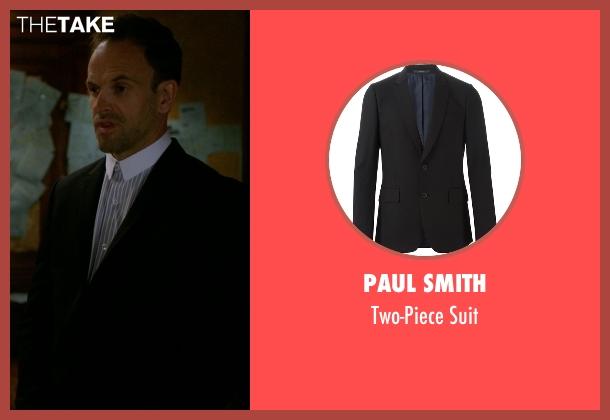 Paul Smith black suit from Elementary seen with Sherlock Holmes (Jonny Lee Miller)