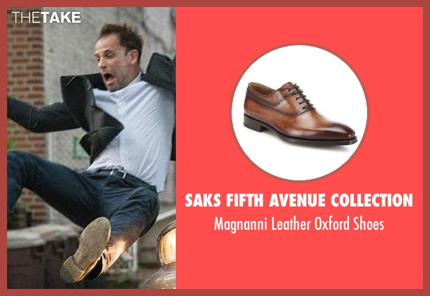 Saks Fifth Avenue Collection brown shoes from Elementary seen with Sherlock Holmes (Jonny Lee Miller)