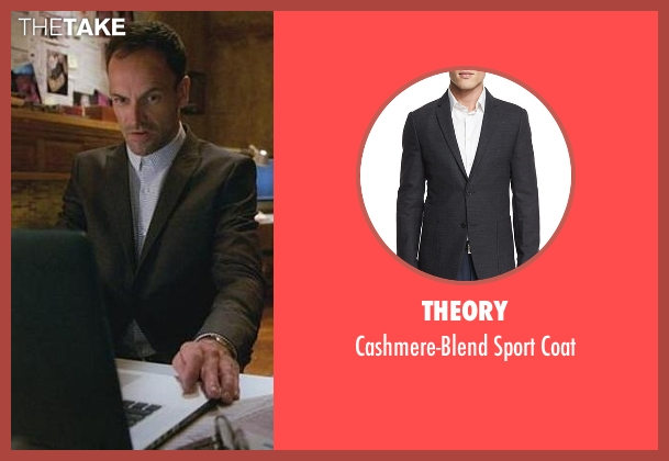 Theory gray coat from Elementary seen with Sherlock Holmes (Jonny Lee Miller)
