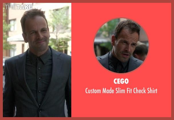 Cego gray shirt from Elementary seen with Sherlock Holmes (Jonny Lee Miller)