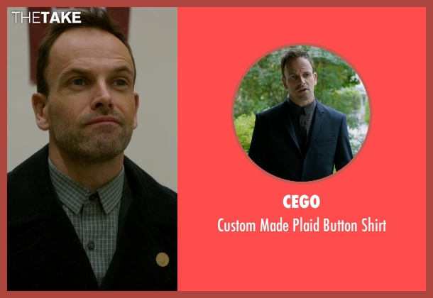 Cego gray shirt from Elementary seen with Sherlock Holmes (Jonny Lee Miller)