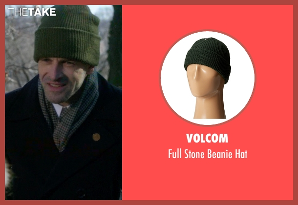 Volcom green hat from Elementary seen with Sherlock Holmes (Jonny Lee Miller)