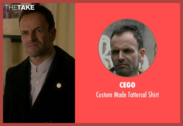 Cego white shirt from Elementary seen with Sherlock Holmes (Jonny Lee Miller)