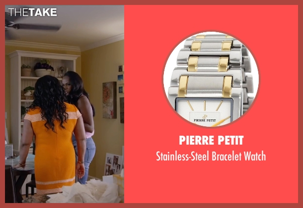 Pierre Petit watch from Ride Along 2 seen with Sherri Shepherd (Cori)