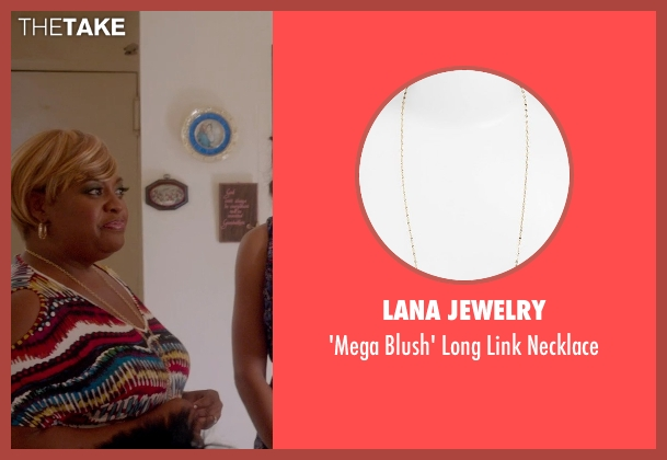 Lana Jewelry gold necklace from Top Five seen with Sherri Shepherd (Vanessa)