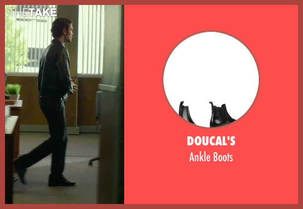 Doucal's black boots from We Are Your Friends seen with Shiloh Fernandez (Ollie)