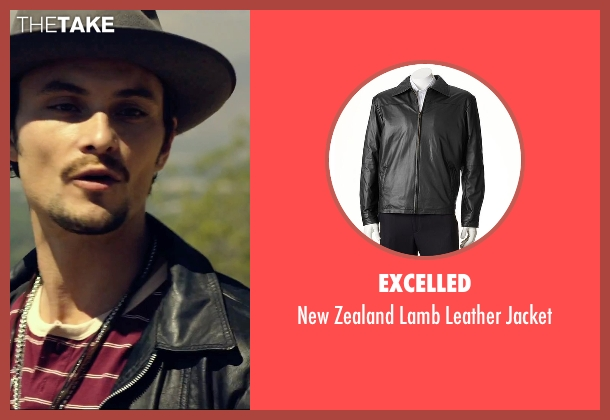 Excelled black jacket from We Are Your Friends seen with Shiloh Fernandez (Ollie)