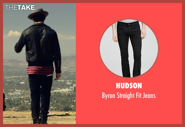 Hudson black jeans from We Are Your Friends seen with Shiloh Fernandez (Ollie)