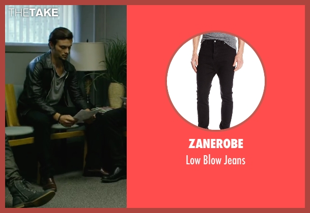 Zanerobe black jeans from We Are Your Friends seen with Shiloh Fernandez (Ollie)