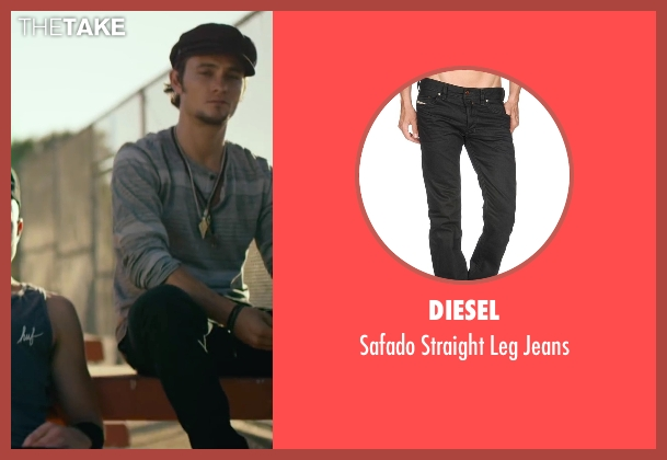 Diesel black jeans from We Are Your Friends seen with Shiloh Fernandez (Ollie)