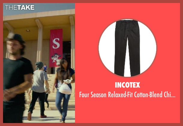 Incotex black pants from We Are Your Friends seen with Shiloh Fernandez (Ollie)