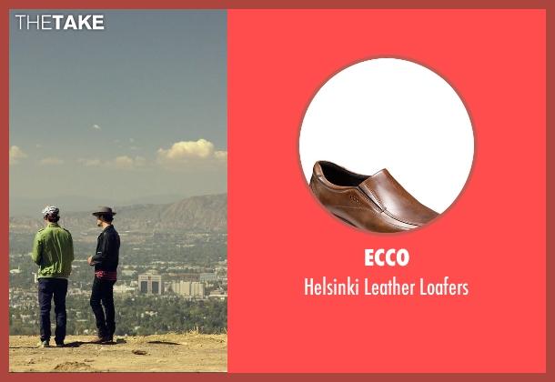 Ecco brown loafers from We Are Your Friends seen with Shiloh Fernandez (Ollie)