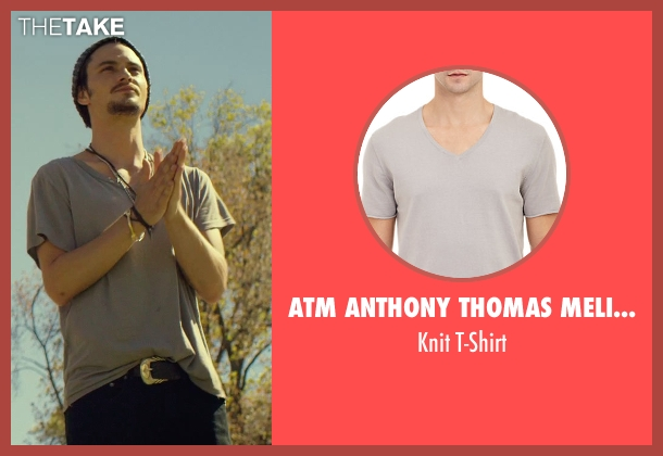 ATM Anthony Thomas Melillo gray t-shirt from We Are Your Friends seen with Shiloh Fernandez (Ollie)