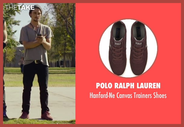 Polo Ralph Lauren red shoes from We Are Your Friends seen with Shiloh Fernandez (Ollie)