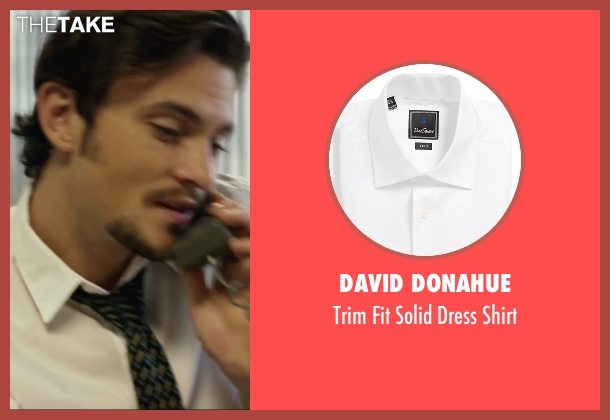 David Donahue white shirt from We Are Your Friends seen with Shiloh Fernandez (Ollie)