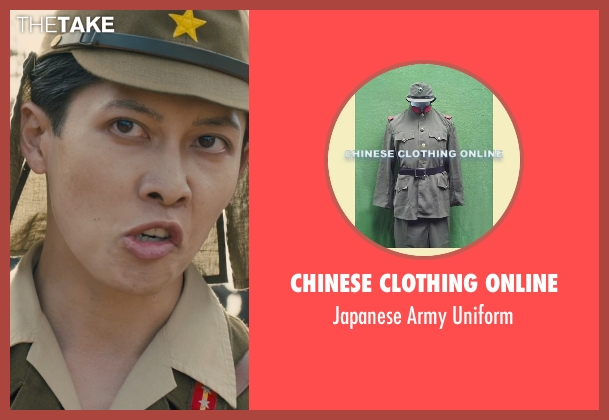 Chinese Clothing Online uniform from Unbroken seen with Shingo Usami (Corporal Kono)