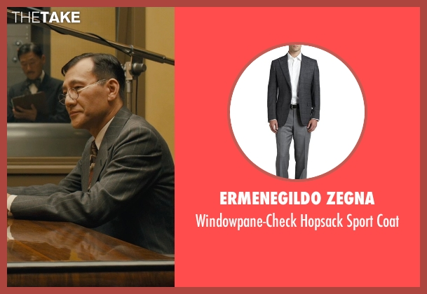 Ermenegildo Zegna gray coat from Unbroken seen with Shinji Ikefuji (Japanese Translator)