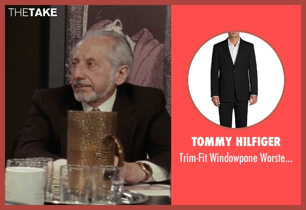 Tommy Hilfiger black suit from (500) Days of Summer seen with Sid Wilner (Grossman)