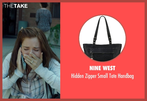 Nine West black handbag from American Sniper seen with Sienna Miller (Taya)