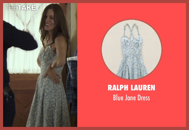 Ralph Lauren blue dress from American Sniper seen with Sienna Miller (Taya)