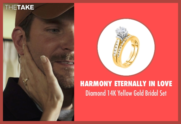 Harmony Eternally in Love gold set from American Sniper seen with Sienna Miller (Taya)