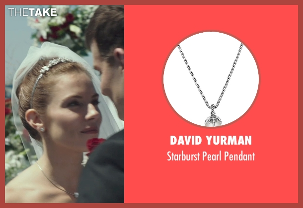 David Yurman silver pendant from American Sniper seen with Sienna Miller (Taya)