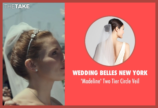 Wedding Belles New York white veil from American Sniper seen with Sienna Miller (Taya)