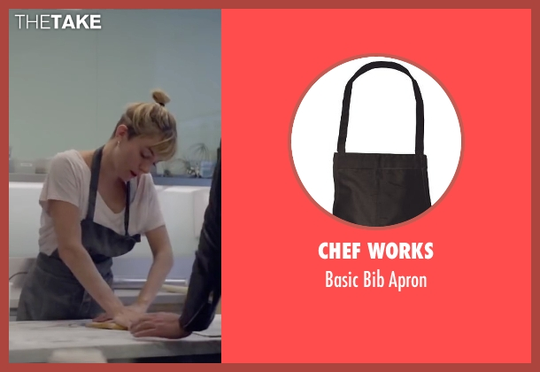 Chef Works apron from Burnt seen with Sienna Miller (Helene)