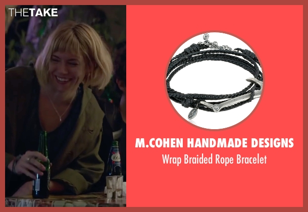 M.cohen Handmade Designs bracelet from Burnt seen with Sienna Miller (Helene)