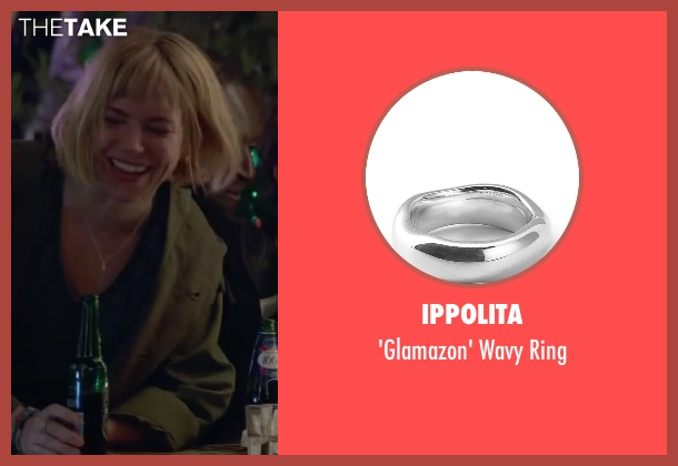 Ippolita silver ring from Burnt seen with Sienna Miller (Helene)