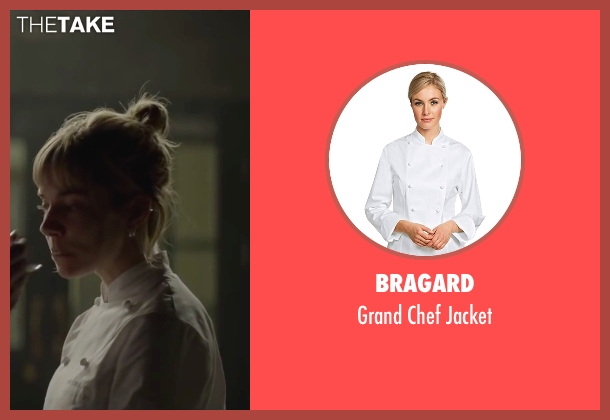Bragard white jacket from Burnt seen with Sienna Miller (Helene)