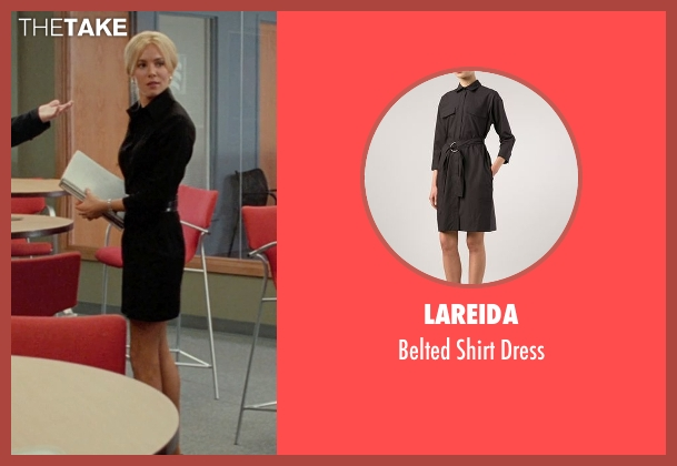 Lareida black dress from Unfinished Business seen with Sienna Miller (Chuck Portnoy)