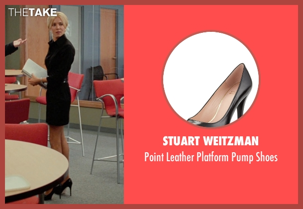 Stuart Weitzman black shoes from Unfinished Business seen with Sienna Miller (Chuck Portnoy)
