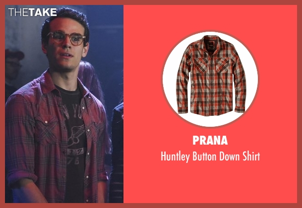 Prana brown shirt from Shadowhunters seen with Simon Lewis (Alberto Rosende)