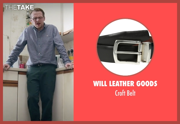 Will Leather Goods black belt from Absolutely Anything seen with Simon Pegg (Neil Clarke)
