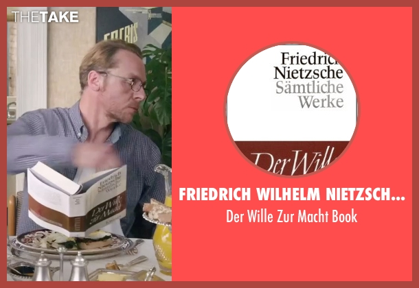 Friedrich Wilhelm Nietzsche (Author) book from Absolutely Anything seen with Simon Pegg (Neil Clarke)