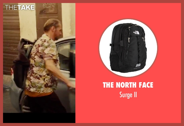 The North Face black ii from Mission: Impossible - Rogue Nation seen with Simon Pegg (Benji Dunn)