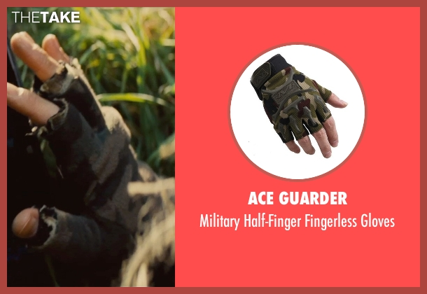 Ace Guarder gloves from Mission: Impossible - Rogue Nation seen with Simon Pegg (Benji Dunn)