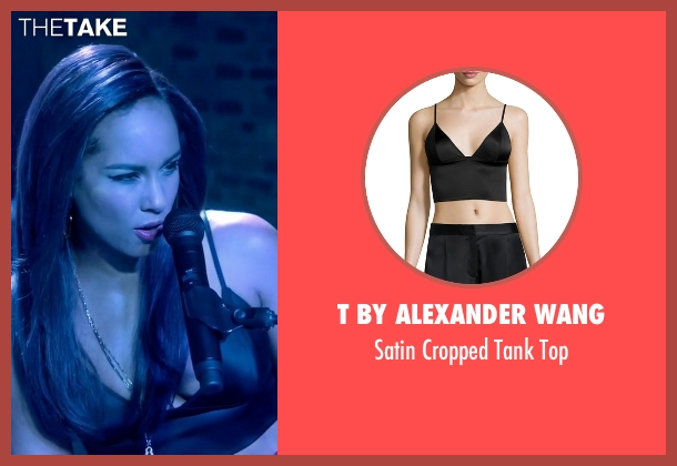 T By Alexander Wang black top from Empire seen with Skye Summers (Alicia Keys)